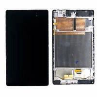 """Дисплей для Asus ME572CL MeMO Pad 7"""" (K007) с тачскрином и рамкой черный Оригинал"""