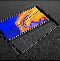 Защитное стекло для Samsung J415 / J4 Plus 2018 Full cover черный 0,26мм в упаковке