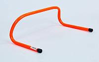 Барьер беговой (1шт) (пластик, р-р 15x46x30см, оранжевый)