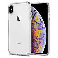 Чехол Spigen для iPhone XS Max Ultra Hybrid, Crystal Cleare (065CS25127)