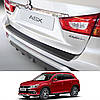 Mitsubishi ASX 2017+ пластиковая накладка заднего бампера