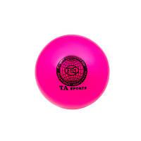 Розовый гимнастический мяч TA SPORT