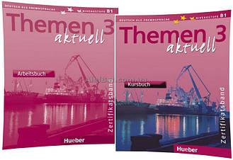 Немецкий язык / Themen Aktuell / Kursbuch+Arbeitsbuch. Учебник+Тетрадь (комплект), 3 / Hueber