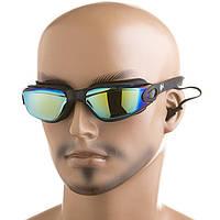 Очки для пловцов с бирюшами Dolvor DLV86AD