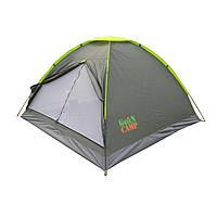 Палатка однослойная 3-х местная GreenCamp 1012