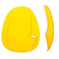 Лопатки для плавания желтые 5872, S,M,L L
