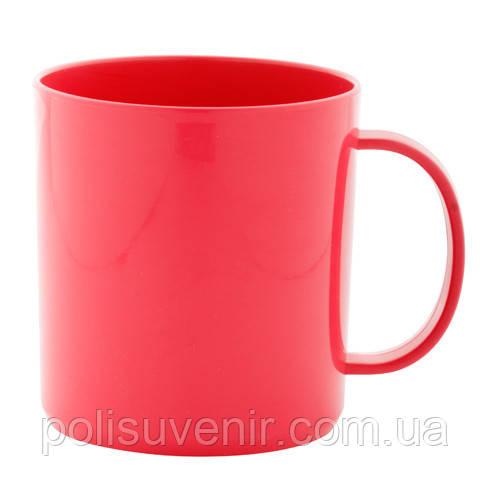 Кольорова пластикова чашка 350 мл