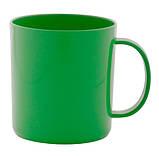 Кольорова пластикова чашка 350 мл, фото 5