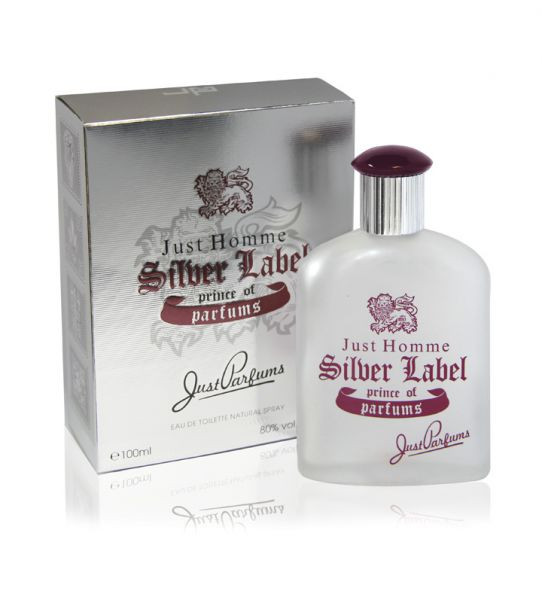 Туалетная вода JUST PARFUMS Just Homme Silver Label edt 100ml