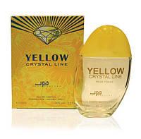 Туалетная вода JUST PARFUMS Yellow Crystal Line edp W 100ml