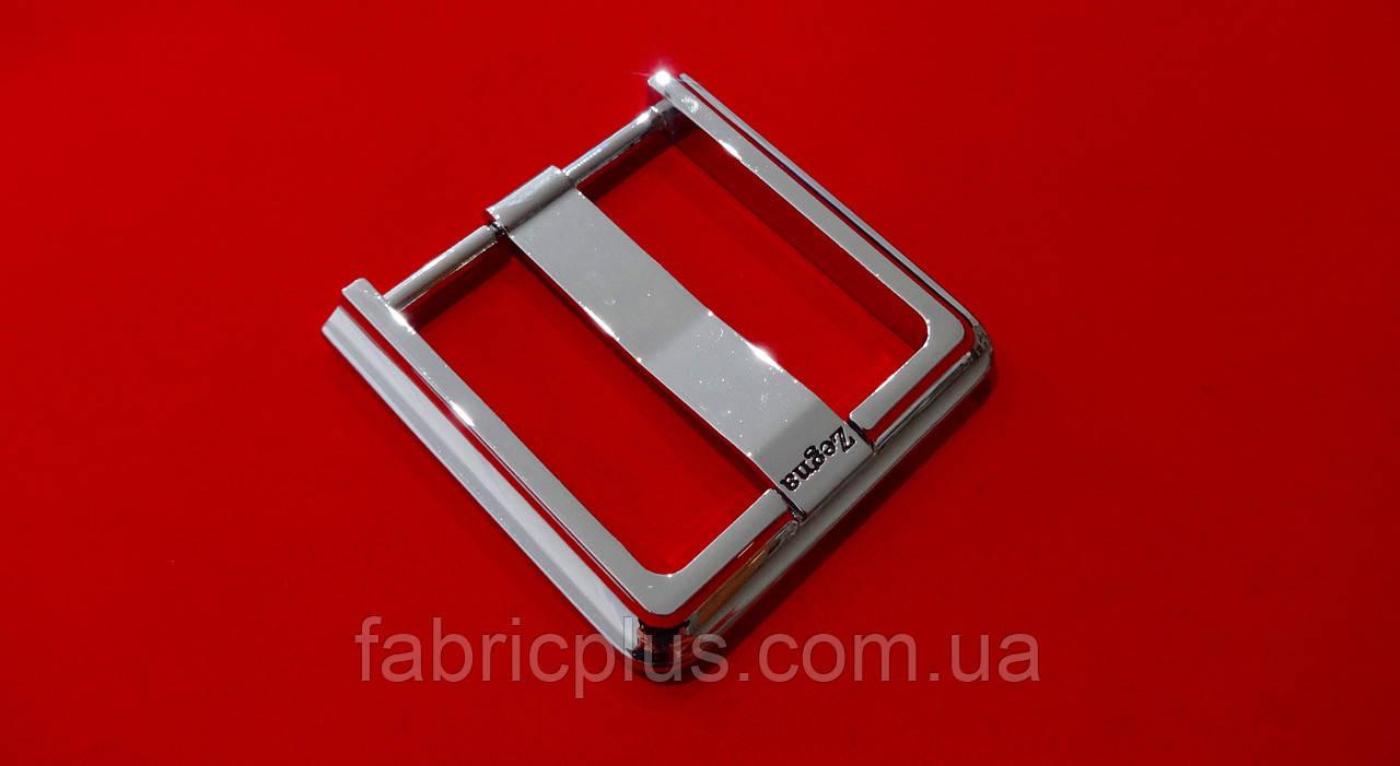 Пряжка мужская ременная 45 мм/1 прокол, никель