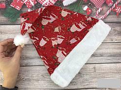 Колпак новогодний с принтом 18536      Только по 12 штук