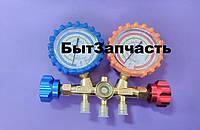 Манометрический коллектор СТ-136 R-22, 134, 404, 410 шланги 90см БЛИСТЕР