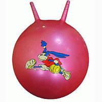 Фитнес мяч с ручками 55см    25415-8