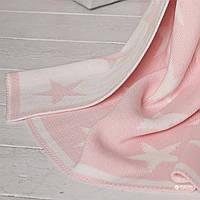 Плед дитячий бавовняний Betires Star Pink