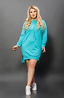 Платье туника женское в цветах  27663, фото 1