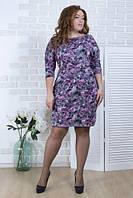 Платье женское в цветах  27666, фото 1
