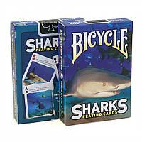 Карты для игры в покер USPCC Bicycle Shark, КОД: 258473
