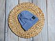 """Набор шапочка со снудом """"Hills"""", голубая, фото 7"""