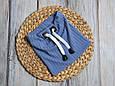 """Набор шапочка со снудом """"Hills"""", голубая, фото 8"""