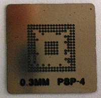 BGA трафарет PSP- 4 ( 0,3 мм Soler бал )