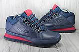 Демисезонные мужские ботинки синие New Balance 754 натуральная кожа, фото 2