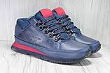 Демисезонные мужские ботинки синие New Balance 754 натуральная кожа, фото 3