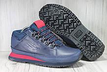 Чоловічі демісезонні черевики сині New Balance 754 натуральна шкіра