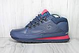 Демисезонные мужские ботинки синие New Balance 754 натуральная кожа, фото 4
