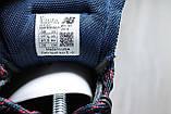Демисезонные мужские ботинки синие New Balance 754 натуральная кожа, фото 6