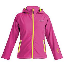 Куртка Hi-Tec Iker JR Carmine 158 Розовая (5901979176992CR-158)