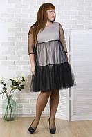 Платье женское с сеткой 27669, фото 1