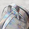 Женский рюкзак Мини Голограммный - в стиле Glamour 🎁 В подарок браслет и кукла, фото 7