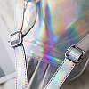 Женский рюкзак Мини Голограммный - в стиле Glamour 🎁 В подарок браслет и кукла, фото 6