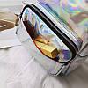 Женский рюкзак Мини Голограммный - в стиле Glamour 🎁 В подарок браслет и кукла, фото 9