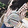Женский рюкзак Мини Голограммный - в стиле Glamour 🎁 В подарок браслет и кукла, фото 10