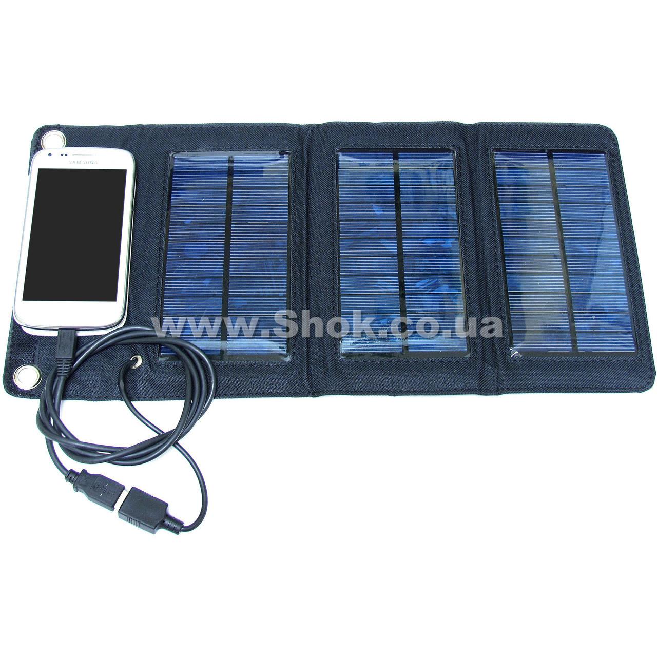 Cолнечное зарядное устройство Solar Power SP-5,5 5W