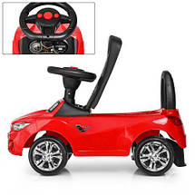 Толокар BMW (3147B-3),Красный, MP3, свет, звук, фото 3