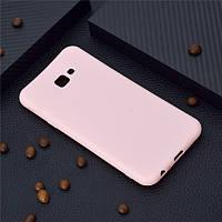 Чехол для Samsung J415 / J4 Plus 2018 силикон soft touch бампер светло-розовый