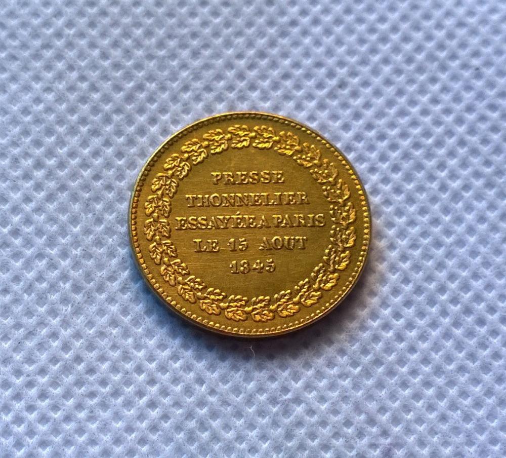 Модуль полуимпериала1845 года Габаритный   бронза №373 копия