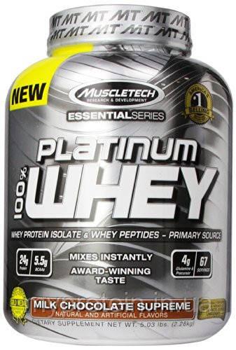 Протеин сывороточный Platinum 100% Whey (2,3 кg)