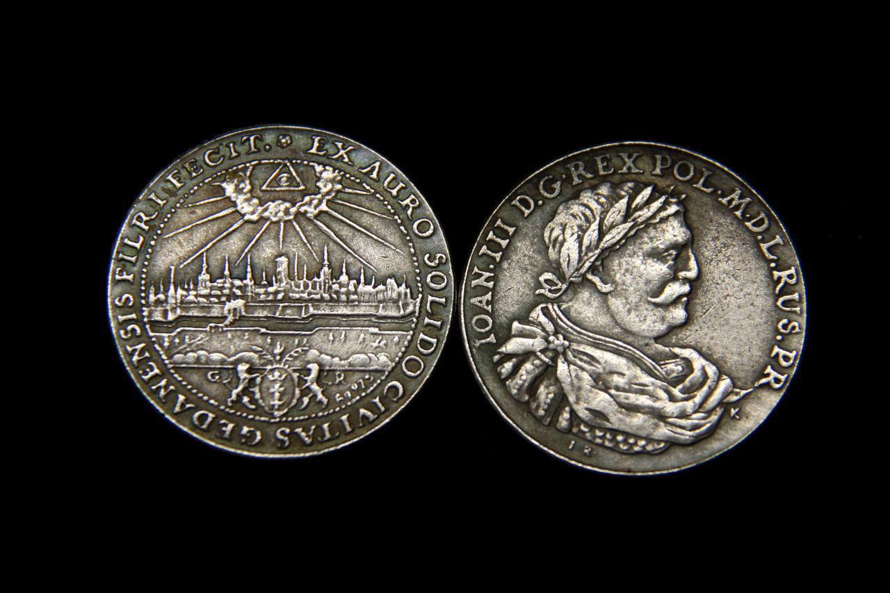 Монета Талер GR Иоанн 3 Польша Массон,  в серебре №510 копия