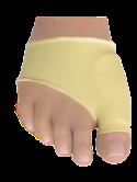 Тканевый бандаж с гелевой вставкой в области кости первого пальца стопы и под плюсну, размер S-шт., фото 1