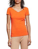 Женская оранжевая футболка Ralph Lauren, фото 1