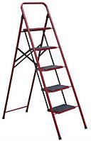 Лестница-стремянка семейная 5 ступени (с ковриком) Технолог
