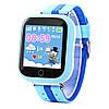 Smart baby watch Q100s, детские умные часы Синие