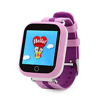 Smart baby watch Q100s, детские умные часы Розовые