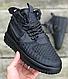 Кроссовки Мужские Утепленные Nike Lunar Force 1 Duckboot 17 Black, Лунар Форс Дакбут  , фото 2