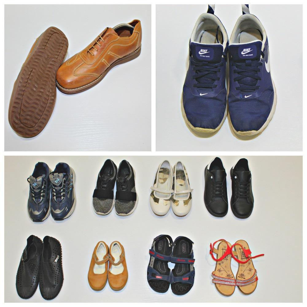 Секонд хенд микс обувь ЕКСТРА осенняя летняя мужская женская детская Польша Оптом от 20 кг