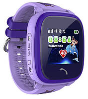 Детские Часы - Телефон с gps трекером. Q 300 - 1040 грн Фиолетовые